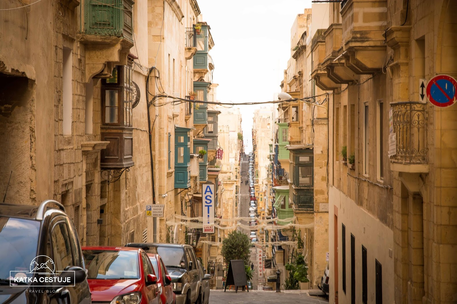 historicke mestecko Valetta kouzelna ulicka malta